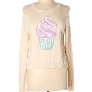 LC Lauren Conrad Cupcake Sweater NWT Size L